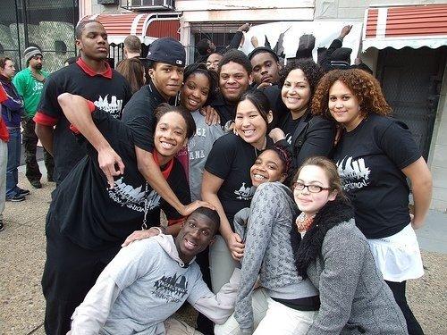 PSU members and me, 2008